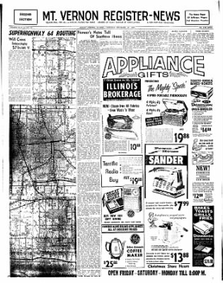 Mt. Vernon Register-News from Mt Vernon, Illinois on December 12, 1963 · Page 17