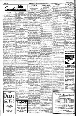 Postville Herald from Postville, Iowa on April 30, 1936 · Page 6