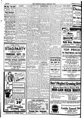 Postville Herald from Postville, Iowa on September 15, 1948 · Page 6