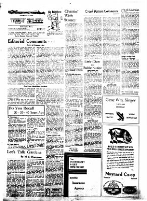 Fayette County Leader from Fayette, Iowa on July 19, 1962 · Page 2