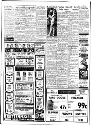 Carrol Daily Times Herald from Carroll, Iowa on October 21, 1959 · Page 4