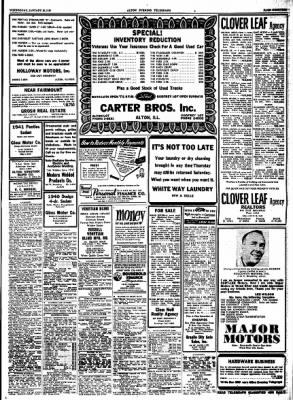 Alton Evening Telegraph from Alton, Illinois on January 18, 1950 · Page 19