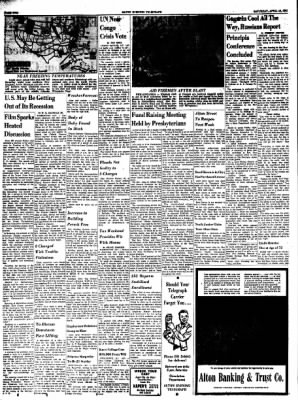 Alton Evening Telegraph from Alton, Illinois on April 15, 1961 · Page 2
