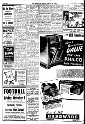 Postville Herald from Postville, Iowa on September 29, 1948 · Page 2