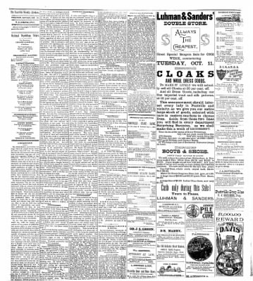 The Postville Review from Postville, Iowa on October 15, 1892 · Page 2