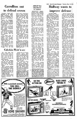 Alton Evening Telegraph from Alton, Illinois on September 12, 1972 · Page 29