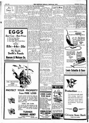 Postville Herald from Postville, Iowa on September 29, 1948 · Page 10
