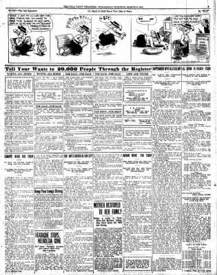 Iola Daily Register And Evening News from Iola, Kansas on March 3, 1915 · Page 5