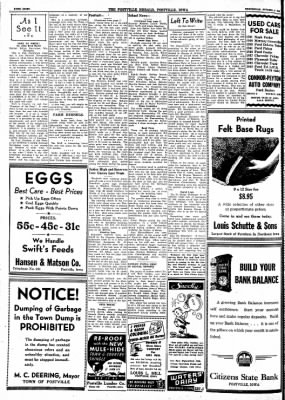 Postville Herald from Postville, Iowa on October 6, 1948 · Page 8