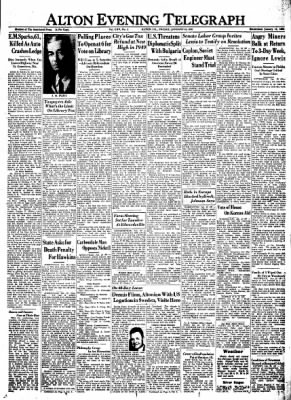 Alton Evening Telegraph from Alton, Illinois on January 20, 1950 · Page 1