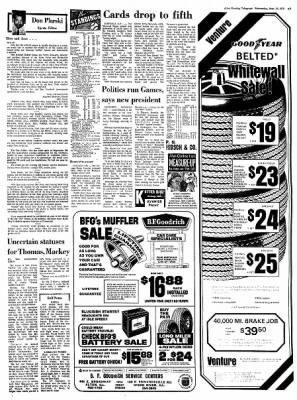 Alton Evening Telegraph from Alton, Illinois on September 13, 1972 · Page 7