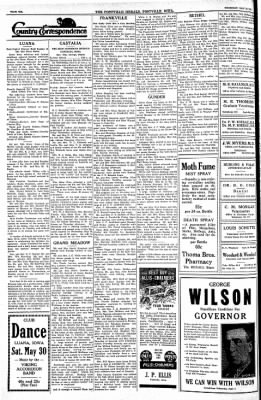 Postville Herald from Postville, Iowa on May 28, 1936 · Page 6