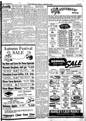 Postville Herald from Postville, Iowa on October 20, 1948 · Page 5