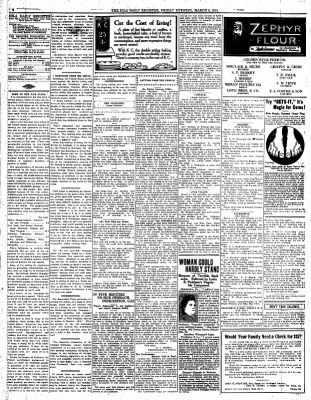 The Iola Register from Iola, Kansas on March 5, 1915 · Page 4