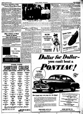 Alton Evening Telegraph from Alton, Illinois on January 20, 1950 · Page 17