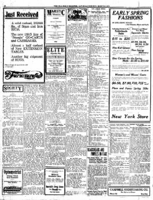 Iola Daily Register And Evening News from Iola, Kansas on March 6, 1915 · Page 2
