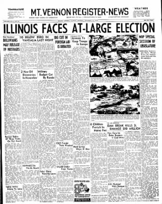 Mt. Vernon Register-News from Mt Vernon, Illinois on December 16, 1963 · Page 1
