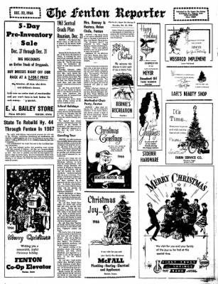 The Algona Upper Des Moines from Algona, Iowa on December 22, 1966 · Page 15