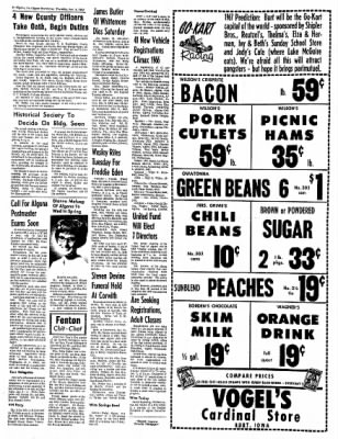 The Algona Upper Des Moines from Algona, Iowa on January 5, 1967 · Page 6
