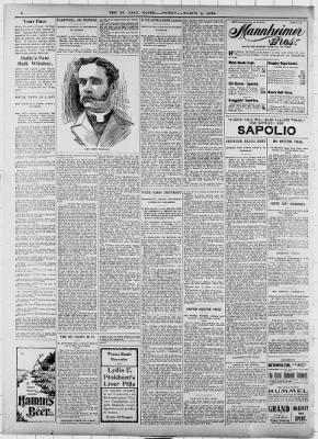 The Saint Paul Globe from Saint Paul, Minnesota on March 4, 1898 · Page 8