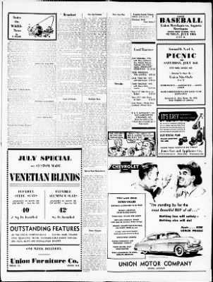 Franklin County Tribune From Union Missouri On July 8 1949 Page 3