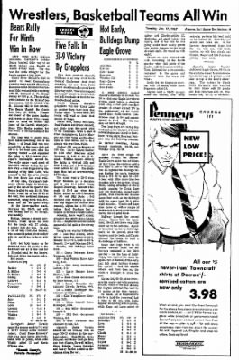 The Algona Upper Des Moines from Algona, Iowa on January 17, 1967 · Page 9