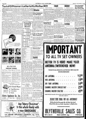 The Courier News from Blytheville, Arkansas on December 14, 1953 · Page 10