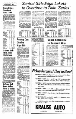 The Algona Upper Des Moines from Algona, Iowa on February 7, 1967 · Page 13