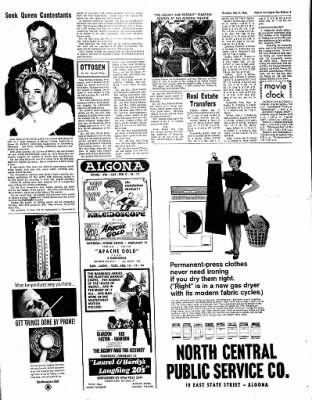 The Algona Upper Des Moines from Algona, Iowa on February 9, 1967 · Page 4