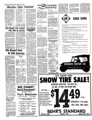 The Algona Upper Des Moines from Algona, Iowa on February 9, 1967 · Page 7