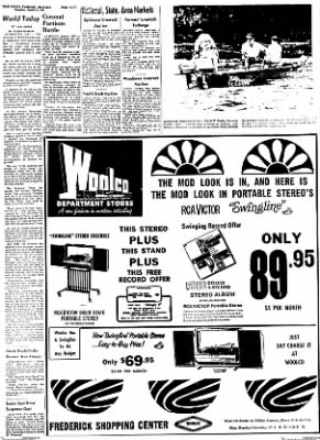 The News from Frederick, Maryland on August 31, 1967 · Page 17