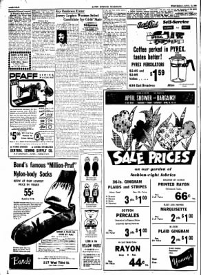 Alton Evening Telegraph from Alton, Illinois on April 15, 1953 · Page 4