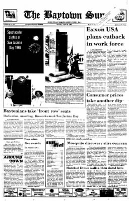 The Baytown Sun from Baytown, Texas on April 22, 1986 · Page 1