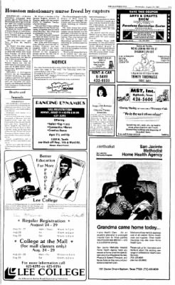 The Baytown Sun from Baytown, Texas on August 19, 1987 · Page 3
