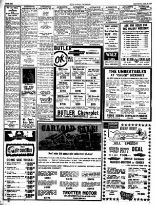 Alton Evening Telegraph from Alton, Illinois on June 26, 1968 · Page 28