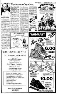 The Baytown Sun from Baytown, Texas on August 19, 1987 · Page 9