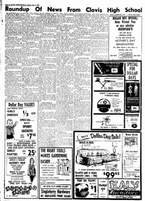 Clovis News-Journal from Clovis, New Mexico on May 2, 1965 · Page 31