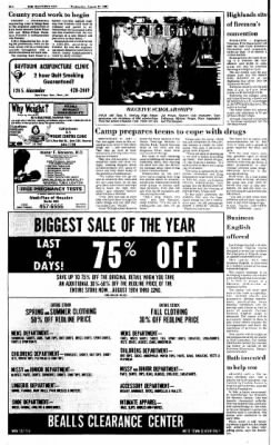 The Baytown Sun from Baytown, Texas on August 19, 1987 · Page 12