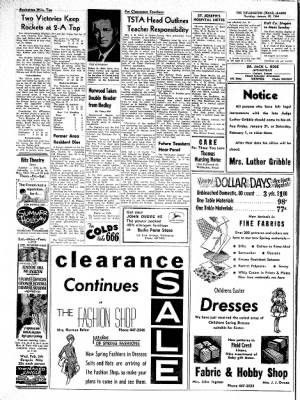 The Wellington Leader from Wellington, Texas on January 30, 1964 · Page 8