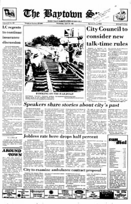 The Baytown Sun from Baytown, Texas on April 23, 1986 · Page 1