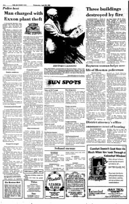 The Baytown Sun from Baytown, Texas on April 23, 1986 · Page 2