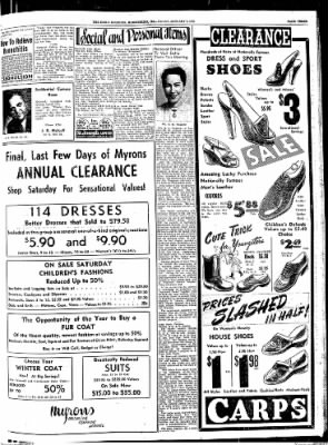 The Daily Register from Harrisburg, Illinois on January 9, 1948 · Page 3