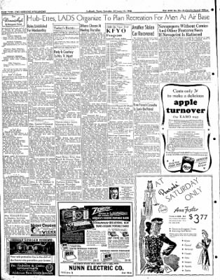 Lubbock Morning Avalanche from Lubbock, Texas on February 14, 1942 · Page 1