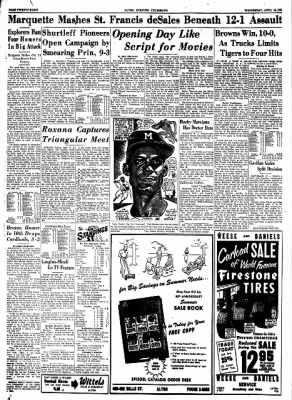 Alton Evening Telegraph from Alton, Illinois on April 15, 1953 · Page 28