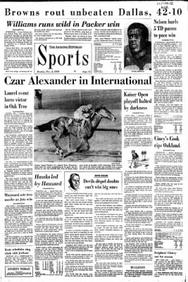 Arizona Republic from Phoenix, Arizona on November 3, 1969 · Page 75