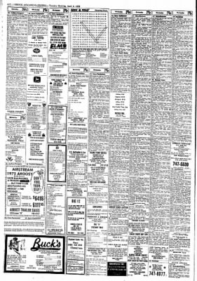 Lubbock Avalanche-Journal from Lubbock, Texas on April 3, 1975 · Page 19