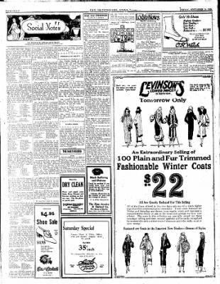 The Hutchinson News from Hutchinson, Kansas on November 14, 1924 · Page 8