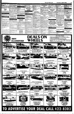 The Baytown Sun from Baytown, Texas on April 23, 1986 · Page 31