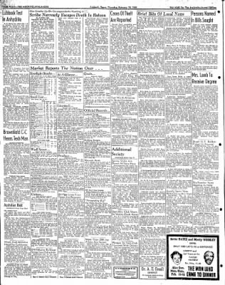 Lubbock Morning Avalanche from Lubbock, Texas on February 19, 1942 · Page 2