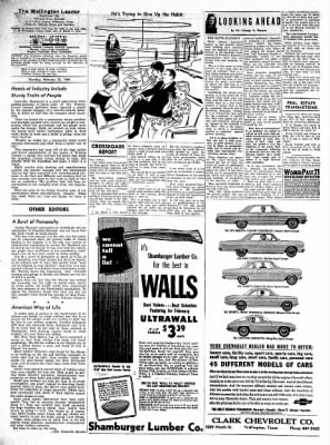 The Wellington Leader from Wellington, Texas on February 20, 1964 · Page 6